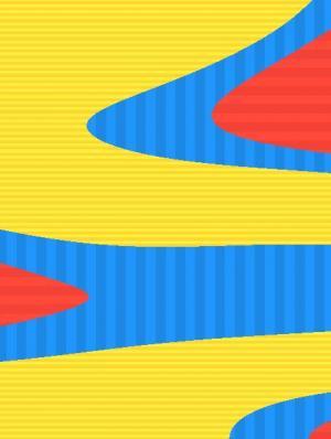 HTML5网页背景素材设计代码canvas画布绘制超级炫丽的动态色彩背景图像
