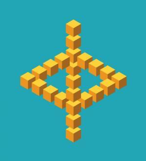HTML网页3D立方体图形设计代码与js特效大全实现鼠标点击3D图像旋转动画效果