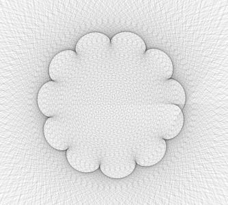 HTML5网站素材特效代码canvas画布设计与制作动态线条绘制成花纹图案动画效果
