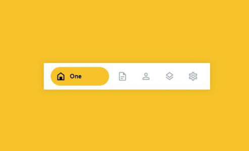 HTML标签代码和样式表CSS3设计制作带icon图标的网站首页导航栏
