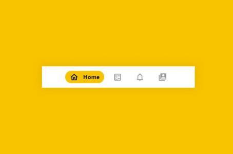 网页导航素材制作代码CSS样式与HTML设计制作简单带icon图标的网页导航