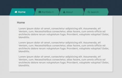 网站静态页面设计与制作代码HTML与CSS排版布局设计二级导航菜单网页模板