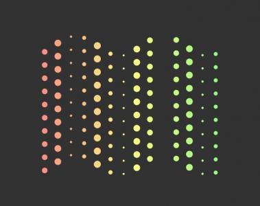 网页特效代码canvas画布绘制渐变背景圆圈波动展示动画效果