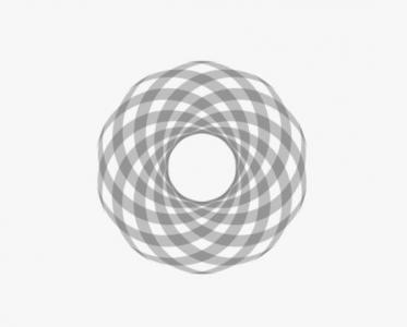 特效素材网站JavaScript代码和动画属性CSS样式绘制3D环形圆图像动画效果