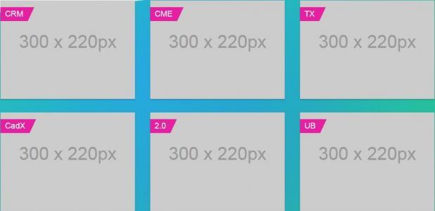 公司网站首页模板产品展示静态页面布局设计与制作