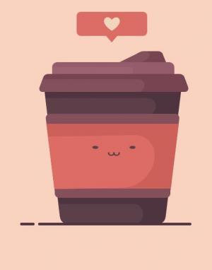 JavaScript特效代码与HTML5绘制奶茶杯子卡通人物头像样式效果
