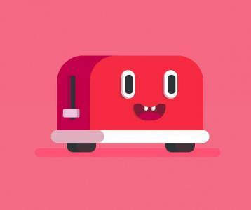特效素材网站JavaScript代码与网页动画属性样式绘制创意卡通车头像动画效果