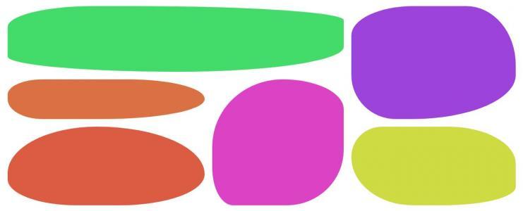 网页素材设计代码JavaScript与CSS3实现随机生成色彩几何图形图像样式代码