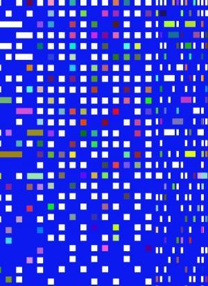 网站动画背景图像代码JavaScript与CSS绘制色彩正方形粒子背景图像样式效果