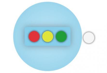 网站特效代码react.js与CSS动画属性设计制作圆形背景动画切换特效代码