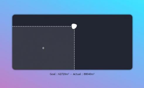 JavaScript拖拽代码与HTML标签实现鼠标拖拽滑块显示区域面积样式效果