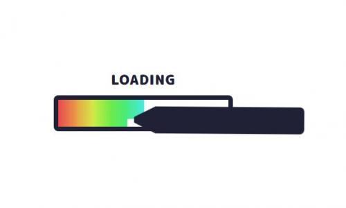 网站数据加载loading制作代码CSS3与JavaScript创意设计铅笔绘画loading加载动画效果