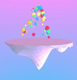 JavaScript网站特效大全代码与CSS绘制3D立体色彩圆形绚丽图像动画效果