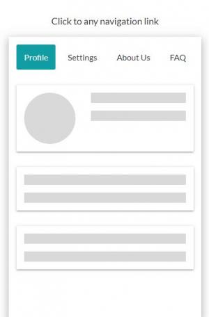 HTML5标签网页代码与CSS样式布局制作简单的tabs选项卡导航菜单网页静态页面