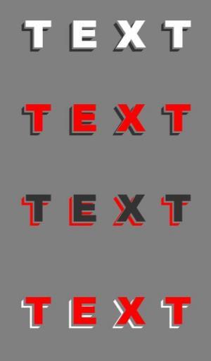 网页3D阴影属性样式制作代码设计带阴影属性效果的3D立体文字