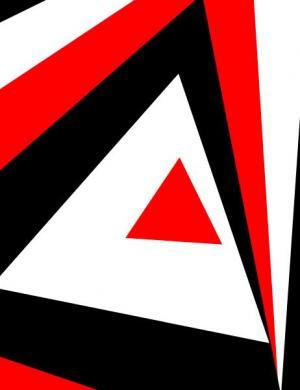 jQuery特效素材设计代码与CSS旋转动画制作大气炫酷的三角形背景图案旋转动画效果