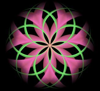 网页特效代码canvas与HTML绘制超级绚丽多彩的花瓣暂放动画效果