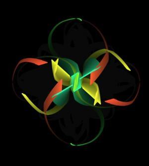 动画特效设计代码canvas画布与HTML5标签绘制绚丽色彩图像旋转动画效果