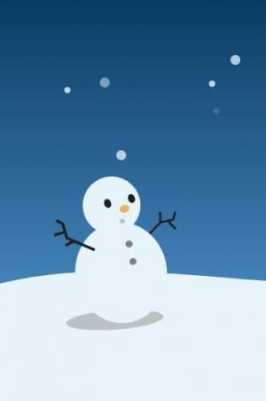 个人网站博客背景设计代码HTML标签与CSS动画绘制冬天下雪动画背景场景效果