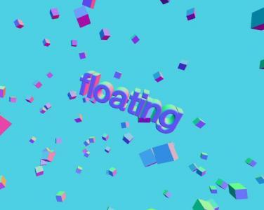 canvas网页特效代码绘制3D立体正方体在空间中随鼠标移动而动动画效果