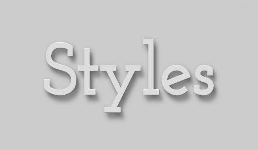 网页3D文字样式设计与制作鼠标滑过文字3D凸显展示动画效果