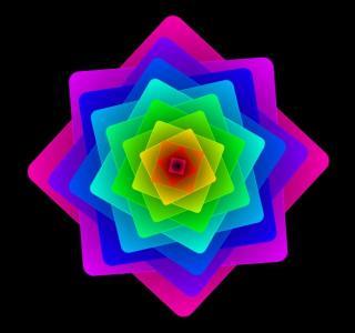 JavaScript网页特效制作代码与CSS色彩属性绘制色彩正方形图形旋转动画效果