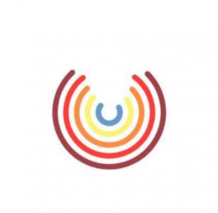 HTML标签代码与CSS色彩样式表绘制彩虹圆形图像旋转动画效果