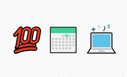 网站素材简笔画图像绘制代码CSS3与JavaScript设计制作简单的简笔画图像样式效果