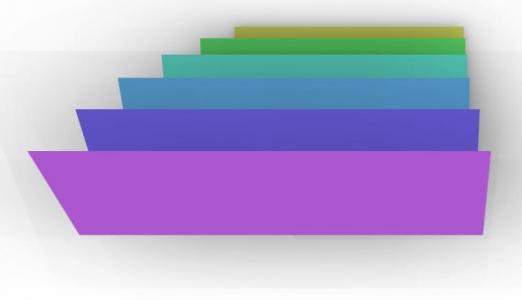 纯CSS3网页设计代码设计制作3D卡片样式效果鼠标滑过展开特效代码