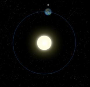 CSS动画属性样式与网站特效canvas绘制逼真太阳系图像旋转动画效果