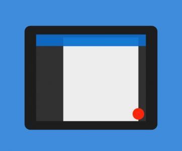网页设计素材样式表CSS动画和HTML标签制作移动端设备UI图像样式切换效果