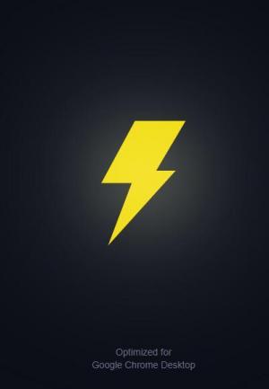 CSS动画设计代码和jQuery特效制作闪电图标loading加载动画效果