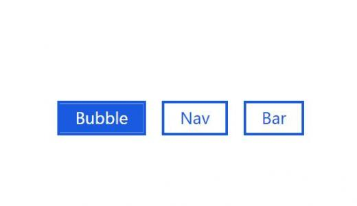 网站平面按钮样式设计JavaScript与CSS绘制鼠标点击按钮背景滑动切换动画效果