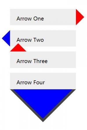 CSS样式属性设计制作三角形小图标图像样式效果网站图标制作与下载