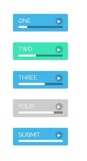 网站素材JavaScript代码设计制作创意进度条UI样式效果