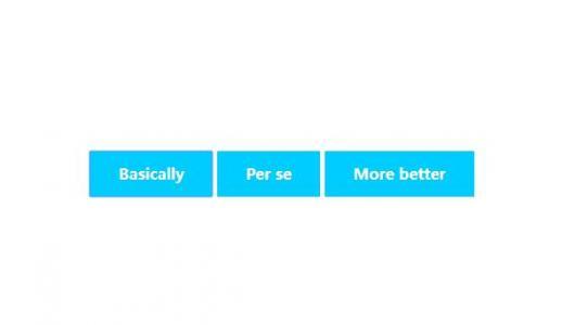 网页按钮设计代码CSS3样式表设计制作网页平面按钮鼠标滑过按钮状态切换效果
