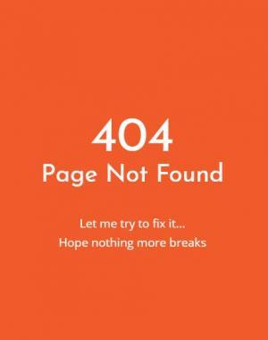 网站静态页面设计与制作JavaScript与CSS设计制作红色背景404静态页面