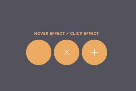 jQuery特效网站代码与CSS3图标属性样式设计icon圆形小图标鼠标滑过图标状态切换代码
