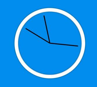 CSS样式表与JavaScript网页时钟代码设计绘制简单的圆形时钟图像样式效果