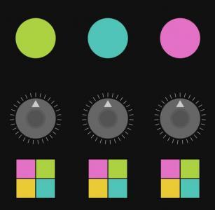 canvas网页特效代码设计可鼠标拖拽设置几何图形图像样式效果