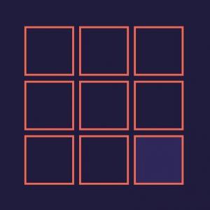 JS网页游戏特效代码和HTML设计制作九宫格简单围棋游戏样式效果