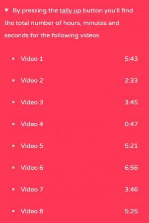 HTML与CSS样式排版设计大气视频播放时段列表样式效果网页列表素材设计与下载