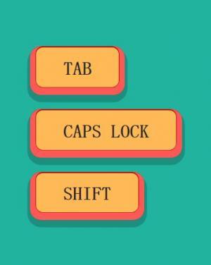 网页按钮设计素材属性CSS3与JavaScript设计制作3D圆角按钮鼠标点击状态切换效果