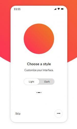网页手机APP静态页面设计与制作鼠标点击滑块开关按钮背景图像动态切换效果