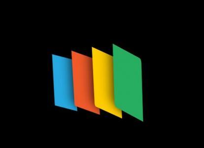 纯CSS3网页旋转动画属性代码绘制色彩矩形loading图标3D旋转动画效果