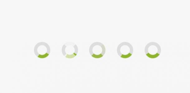 JavaScript特效网站代码与CSS动画样式绘制环形圆形loading小图标旋转加载动画效果