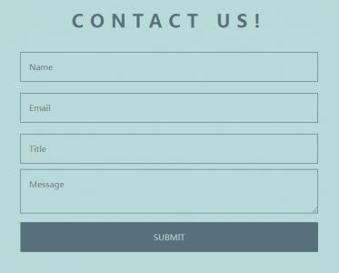 HTML网页标签布局代码和CSS样式设计联系表单样式效果网站form表单设计代码