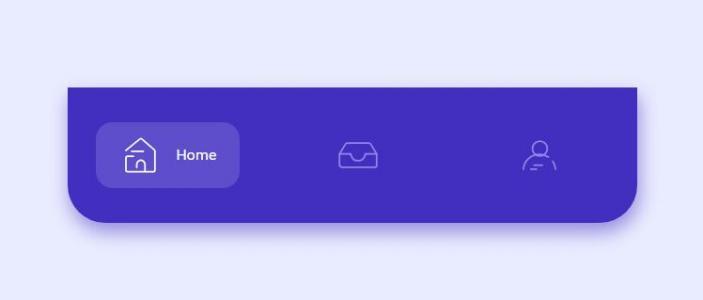JavaScript特效网站代码与CSS排版布局移动APP底部导航样式效果鼠标点击按钮切换特效代码