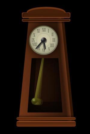JS网页时钟代码与HTML样式表设计制作挂钟摇摆图像动画效果网页时钟素材大全
