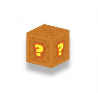 纯CSS3网页3D属性样式表绘带阴影效果的制木质箱子旋转动画效果